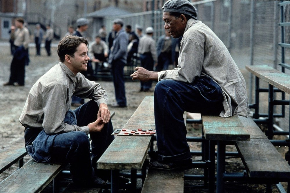 The Shawshank Redemption (1994) - Directed by: Frank DarabontWritten by: Stephen King (short story) & Frank Darabont