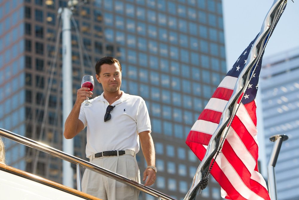 The Wolf Of Wall Street (2013) - Directed by: Martin ScorseseWritten by: Terence Winter
