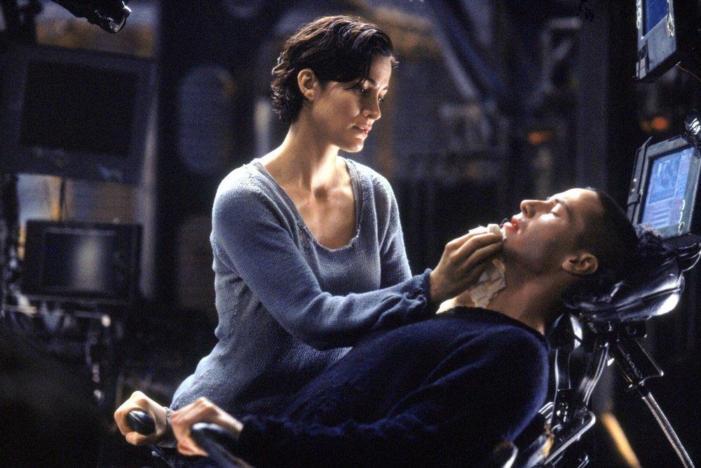 The Matrix (1999) - Directed by: Lana Wachowski & Lily WachowskiWritten by: Lana Wachowski & Lily Wachowski