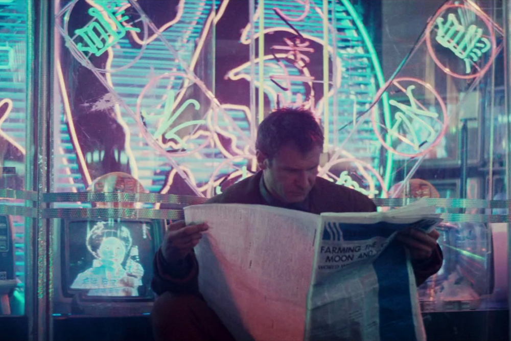 Blade Runner (1982) - Directed by: Ridley ScottWritten by: Hampton Fancher & David Webb Peoples