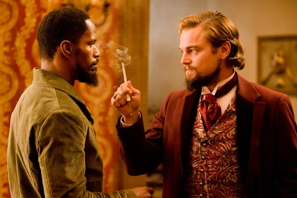 Django Unchained (2012) - Directed by: Quentin TarantinoWritten by: Quentin Tarantino