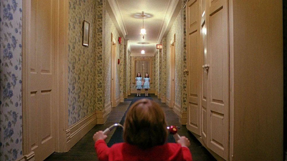 The Shining (1980) - Directed by: Stanley KubrickWritten by: Stephen King (novel), Stanley Kubrick & Diane Johnson