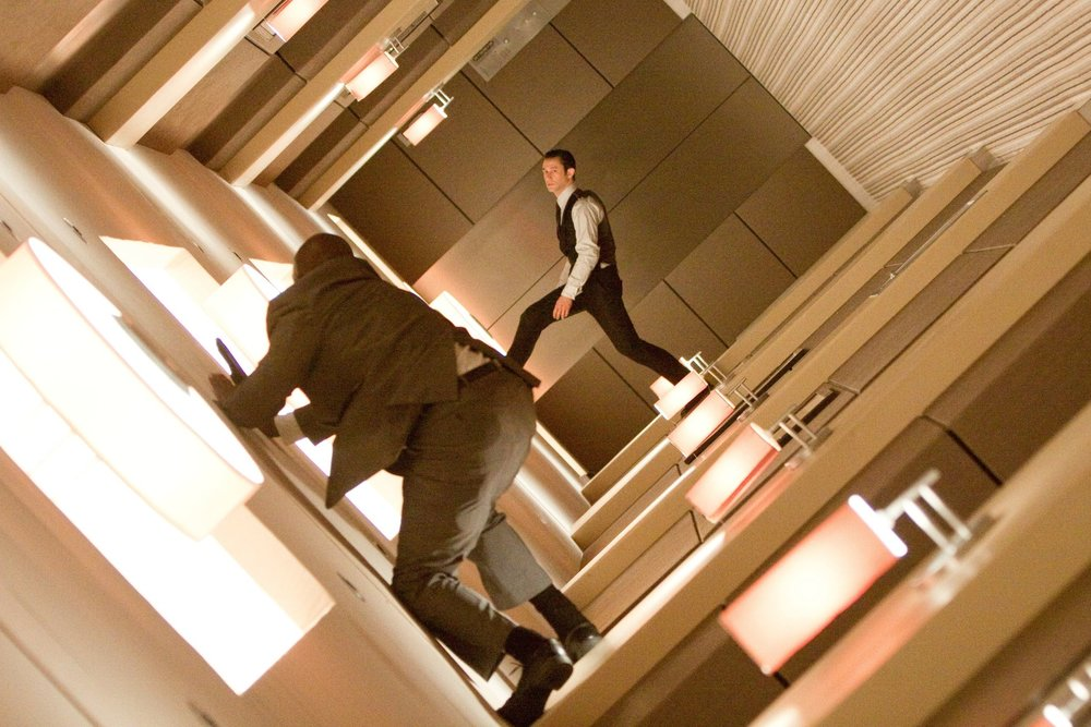 Inception (2010) - Directed by: Christopher NolanWritten by: Christopher Nolan