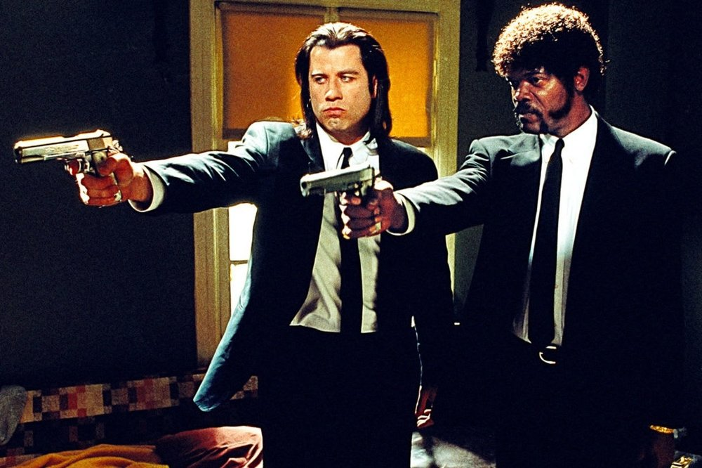 Pulp Fiction (1994) - Directed by: Quentin TarantinoWritten by: Quentin Tarantino