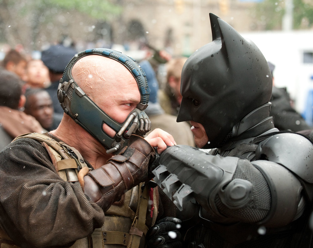 The Dark Knight Rises (2012) - Directed by: Christopher NolanWritten by: Christopher Nolan & Jonathan Nolan