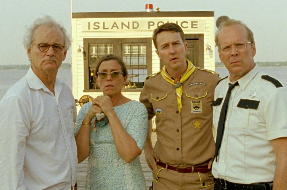 Moonrise Kingdom (2012) - Directed by: Wes AndersonWritten by: Wes Anderson & Roman Coppola