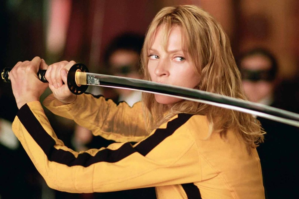 Kill Bill: Vol. 1 (2003) - Directed by: Quentin TarantinoWritten by: Quentin Tarantino