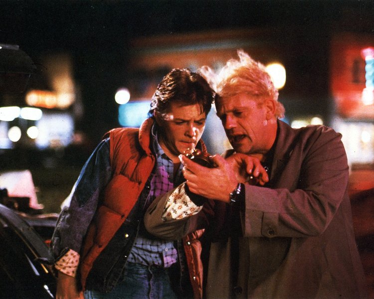 Back to the Future (1985) — Screenplayed