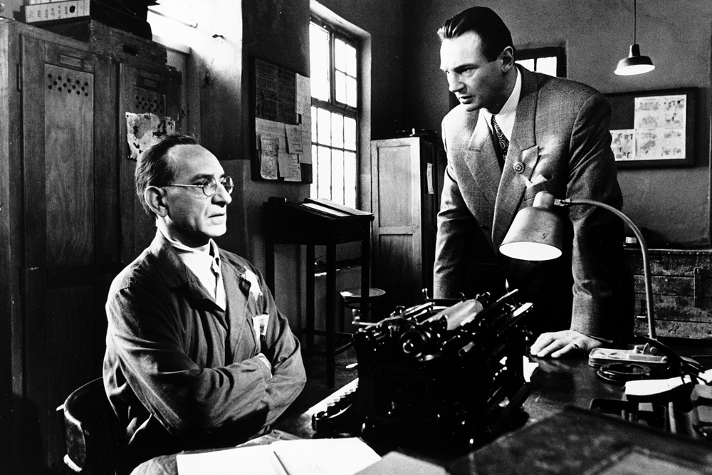 Schindler's List (1993) - Directed by: Steven SpielbergWritten by: Thomas Keneally (book) & Steven Zaillian