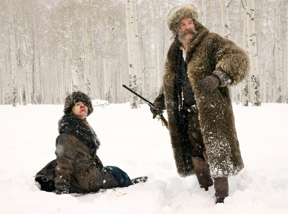 The Hateful Eight (2015) - Directed by: Quentin TarantinoWritten by: Quentin Tarantino