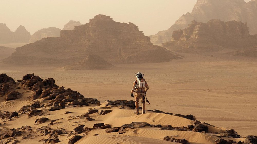 The Martian (2015) - Directed by: Ridley ScottWritten by: Drew Goddard & Andy Weir (novel)