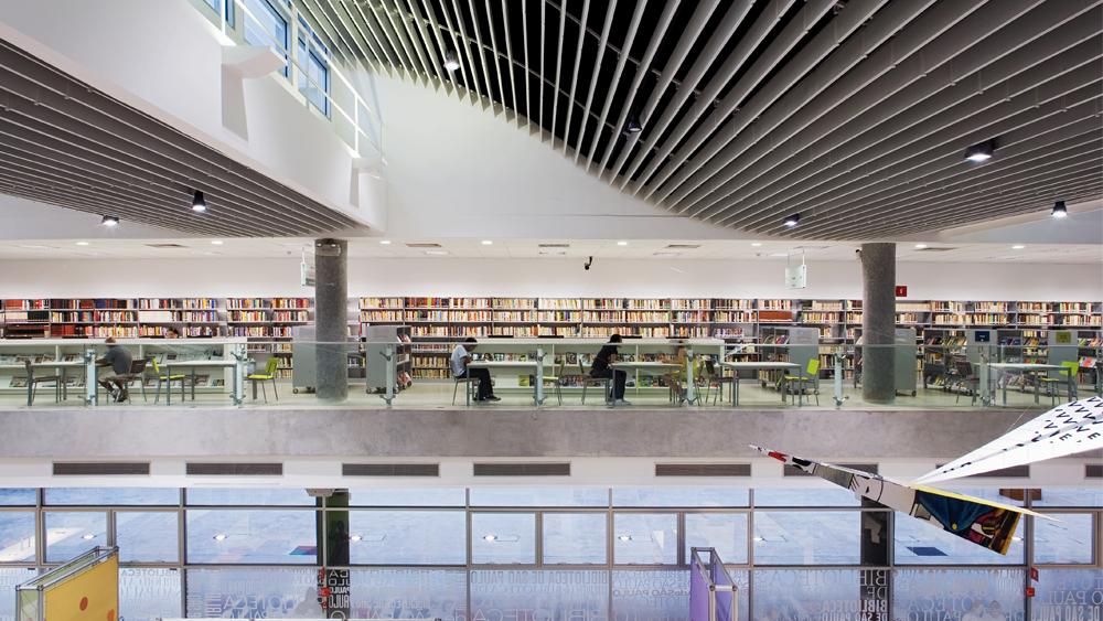Parque da Juventude's library - São Paulo, SP - 2014
