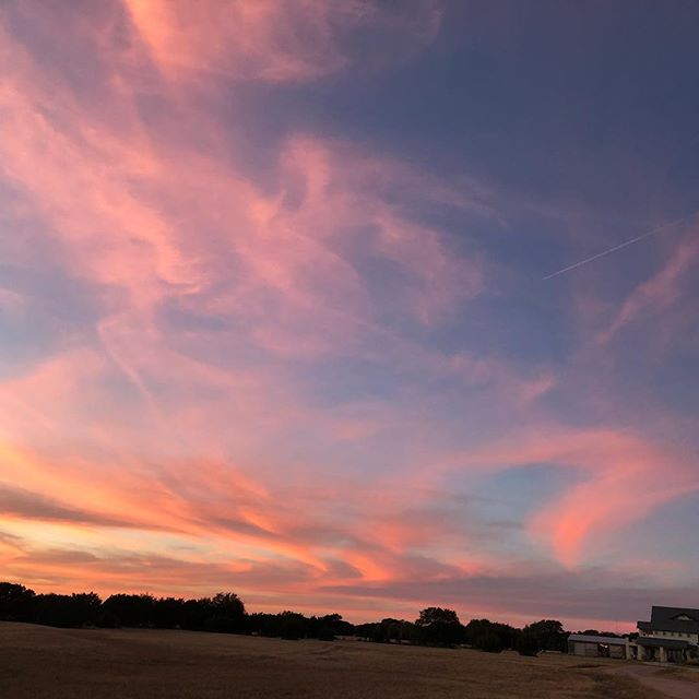 This never gets old.  #nofilterneeded, #hillcountrysunsets, #countrylife #godisgood