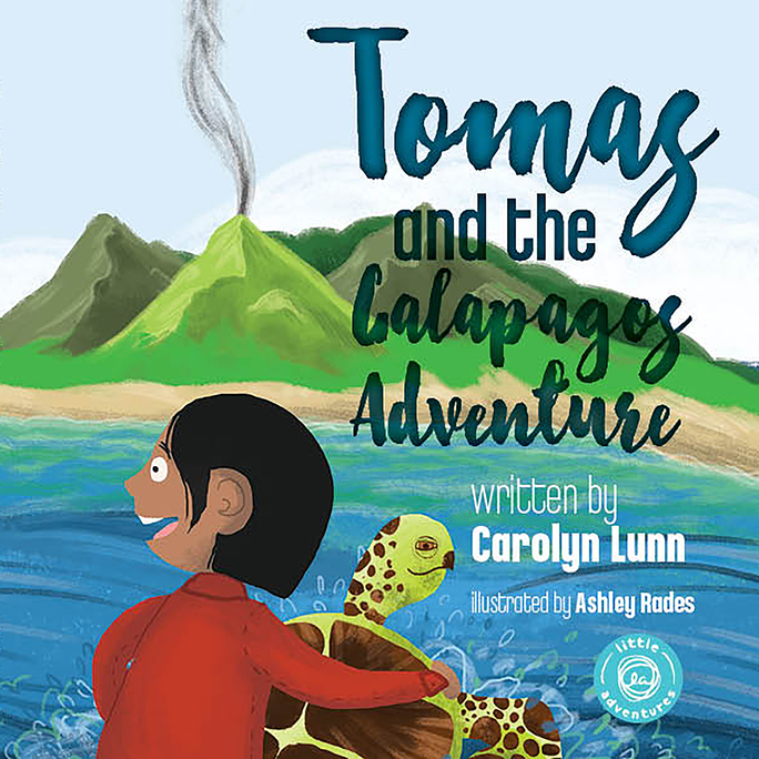 Tomas and the Galapagos Adventure Children's Book By Carolyn Lunn