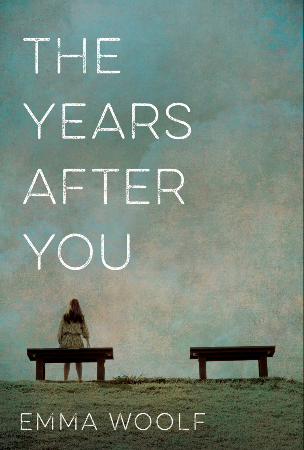 The Years After You book cover, purple background, words written in white-cover in progress