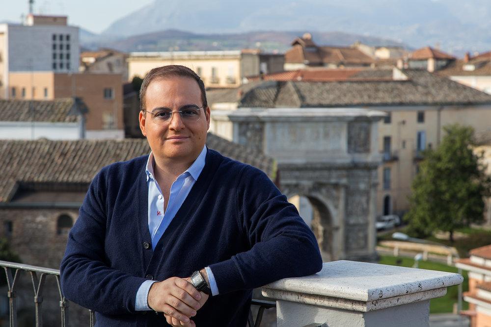 Leonardo Ciccopiedi Benevento Arco di Traiano