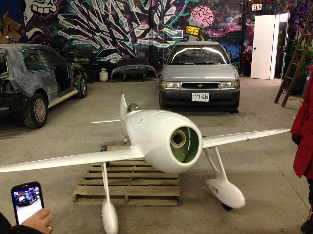 The RC Plane as it looked on arrival to our shop