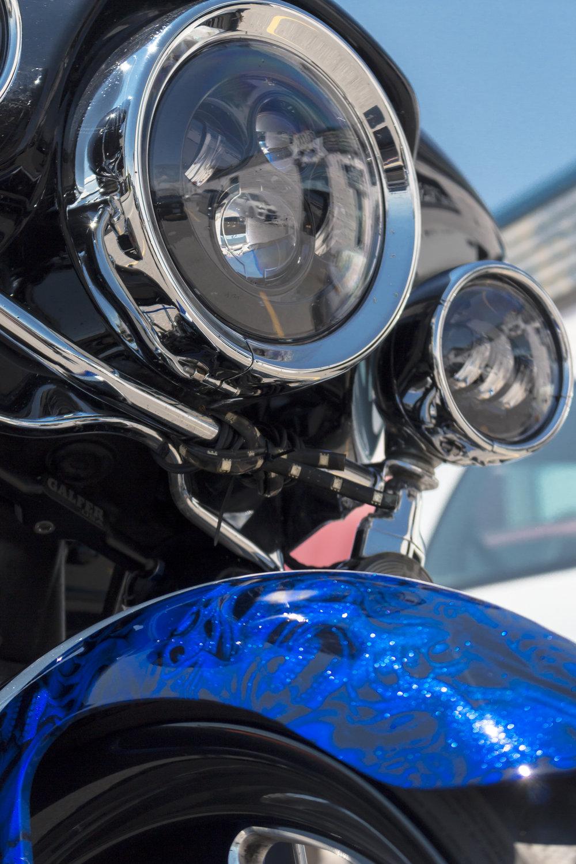 Mike's custom Harley-Davidson Bagger by Sketchs Ink Ottawa Canada