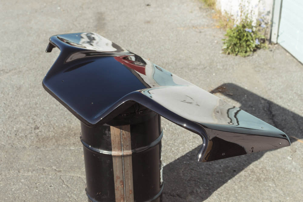 350z Carbon Fiber Diffuser Custom Hydrographics