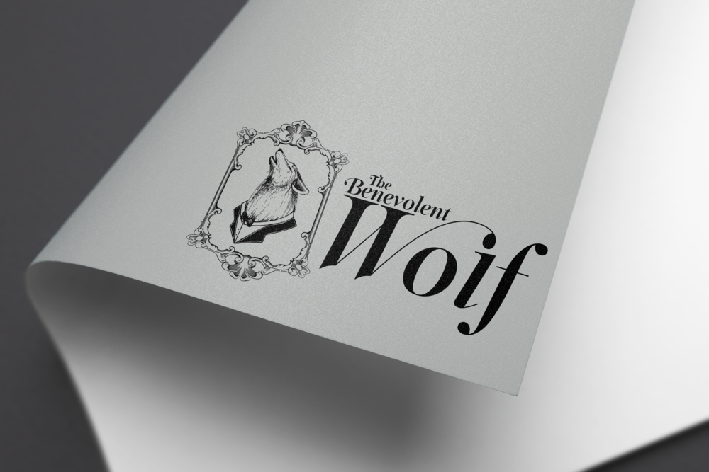 The Benevolent Wolf Logo Design. Designed in Adobe Illustrator Creative Cloud. (2015).