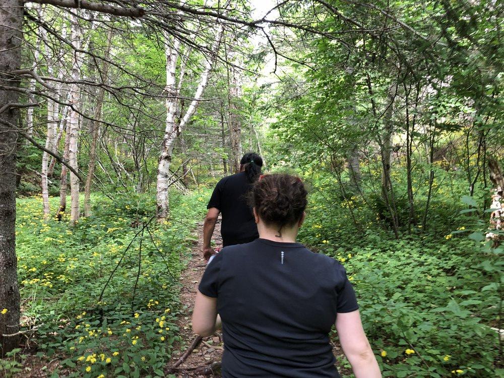 Kluskap Caves Trail with Clifford Paul