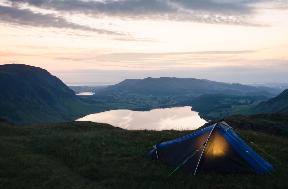 Camping on Rannerdale Knotts for the Sunrise