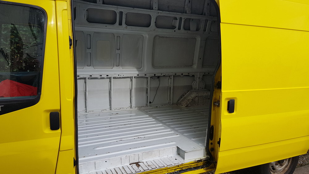 Our Van - Clean as a Whistle!