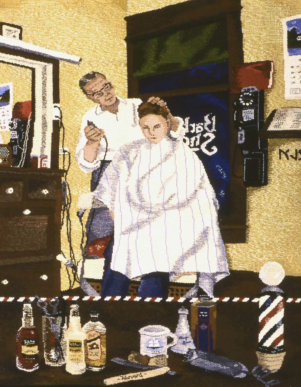 "Barbershop Buzz      56""x36     available"