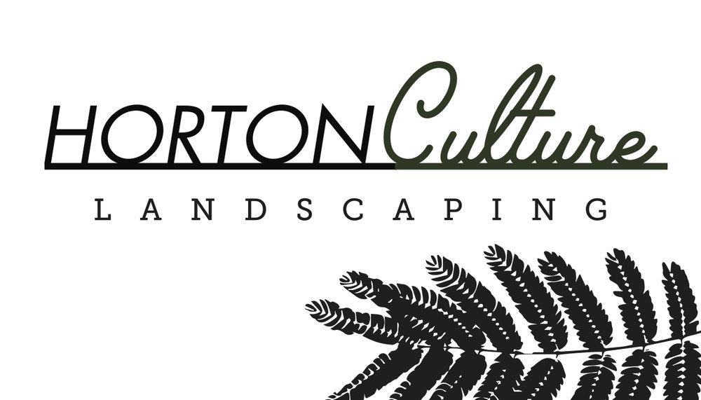 hortonculture business card front by owen keturah