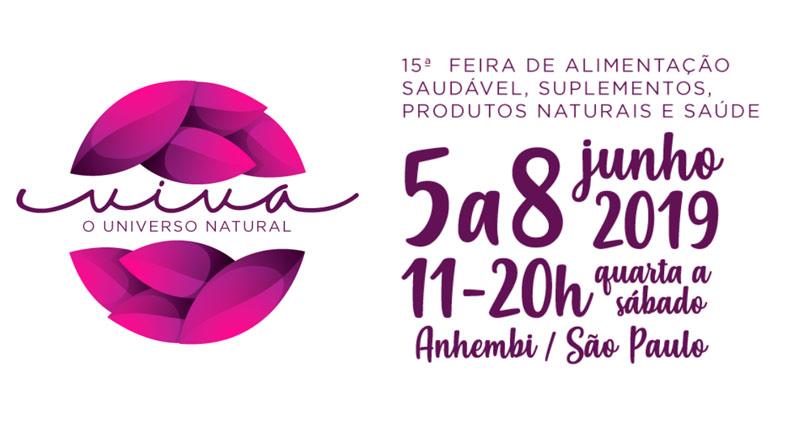 Natural Tech - A feira de alimentação saudável, suplementos, produtos naturais e saúde acontece de 5 a 8 de junho de 2019 e a Desinchá também estará lá, marcando presença! É no Anhembi/ São Paulo.