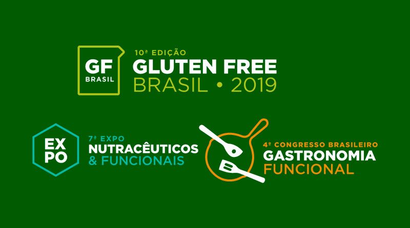 Gluten Free - Estamos com a presença confirmada no evento Gluten Free Brasil, um evento de gastronomia funcional, nutracêuticos & funcionais.