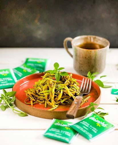 Abobrinha ao molho Pesto - 5 receitas saudáveis para o seu carnaval
