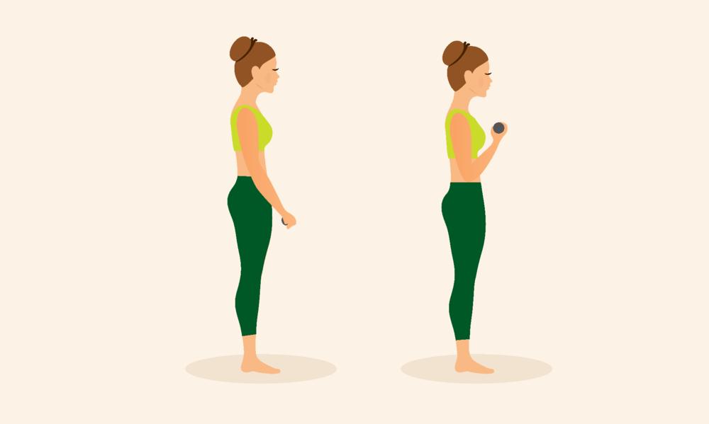 Exercício para bíceps