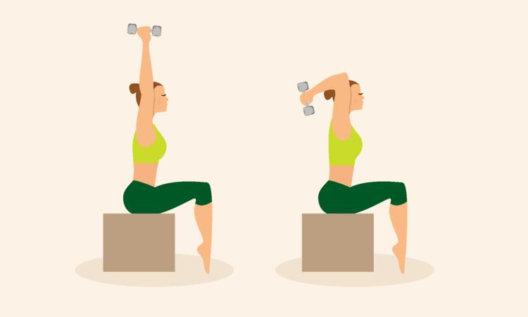 Exercício para tríceps