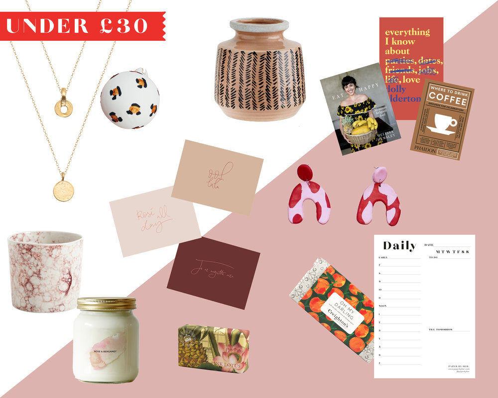 Independent Gift Guide 2019 Under £30