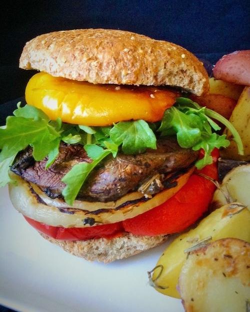 Ultimate Portabello Mushroom Burgers