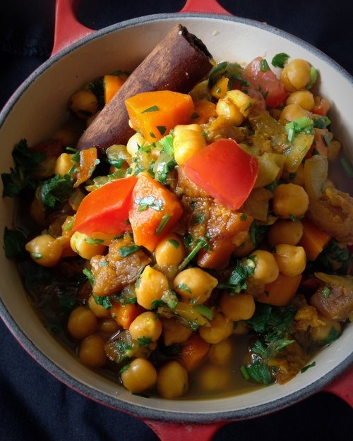 Moroccan Chickpea Tagine Stew