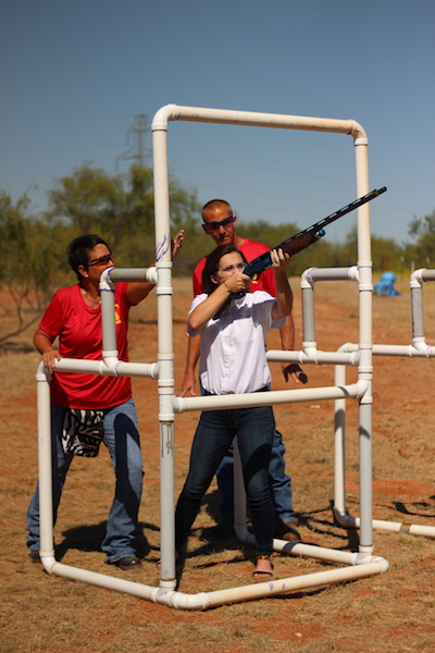 Clay Target Female Shooting.JPG