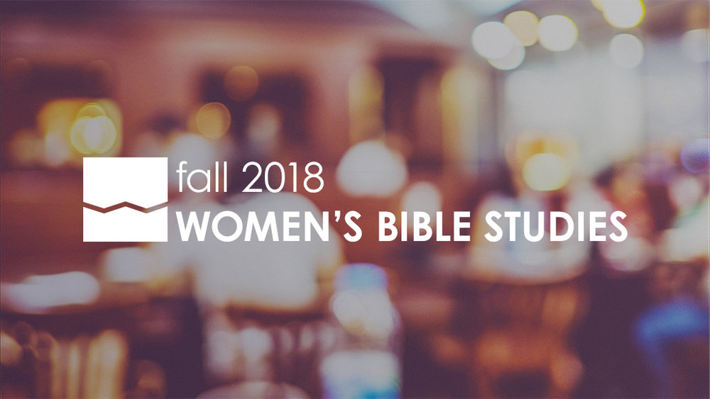 mbcWOMEN's Fall 2018 Bible Studies Registration