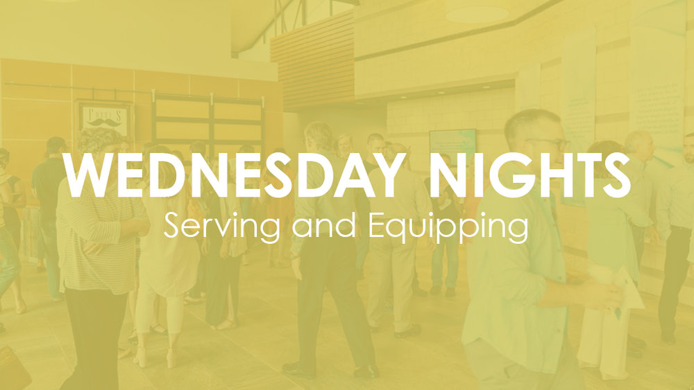 Interested in serving at MBC on Wednesday Nights?