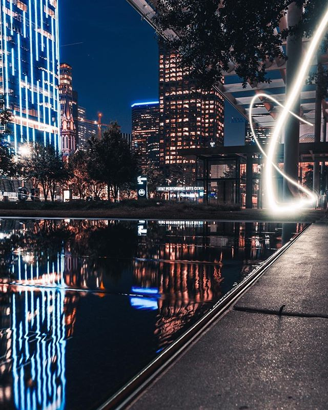 Looking for a fun way to experience Dallas? Go out and see the city lights at night! Don't forget to snap a photo and tag #mydtd like @_thomas.russell did!