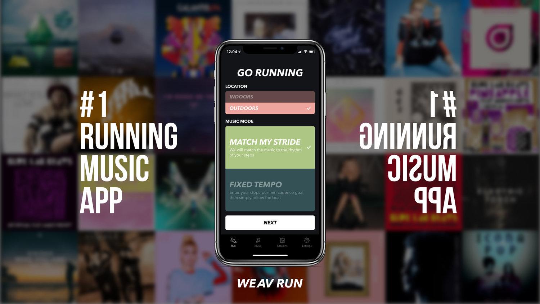 Weav Run - #1 Running Music App