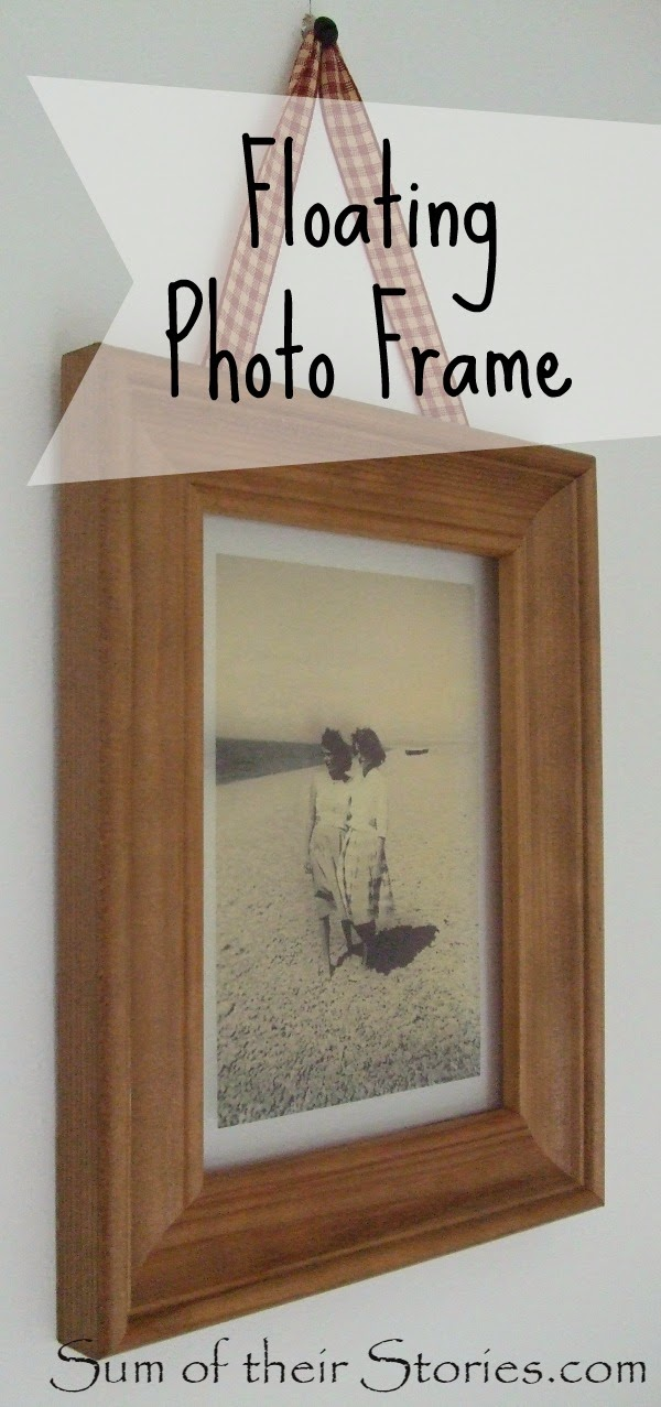 Floating Photo Frame — Sum of their Stories