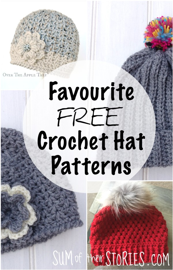 My Favourite Free Crochet Hat Patterns — Sum of their Stories