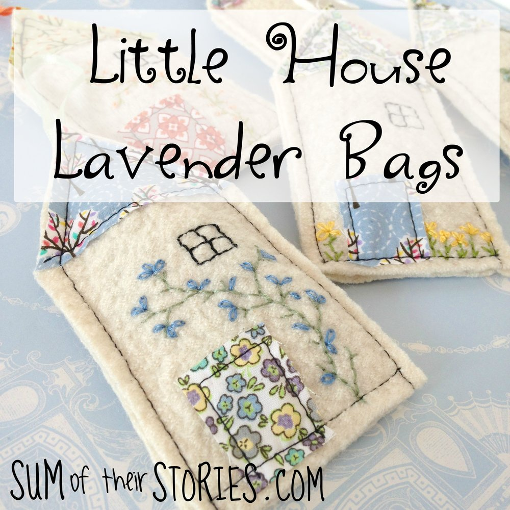 Little House Lavender Bags Sum Of Their Stories