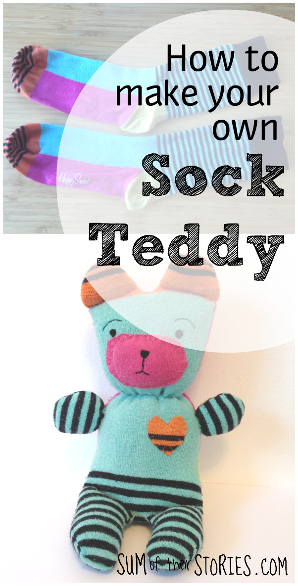 How to make a sock bear