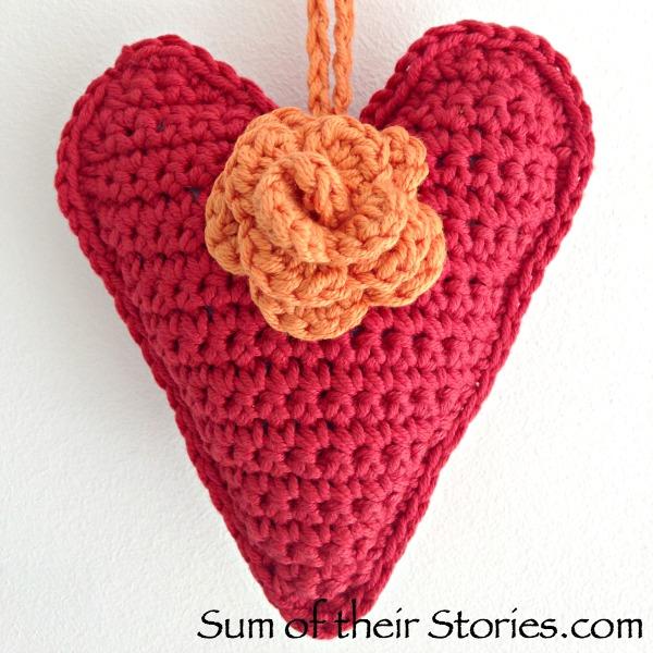Crochet Heart Sum Of Their Stories