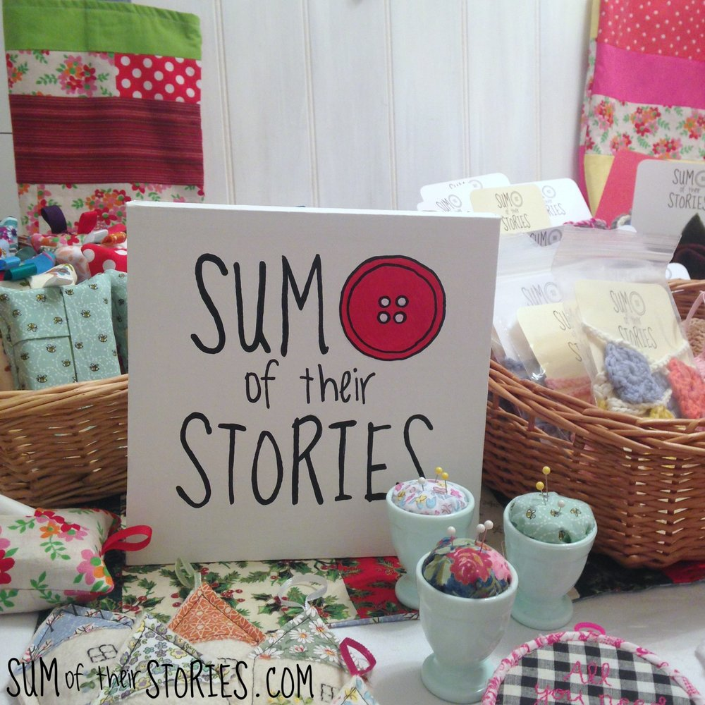 make your own simple logo sign for craft fairs