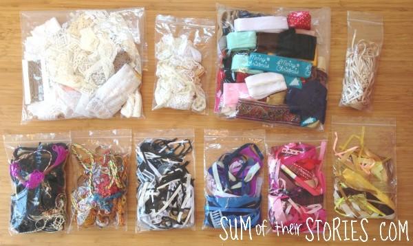 Organising ribbons