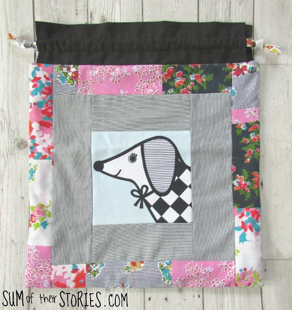 drawstring toy bag pattern